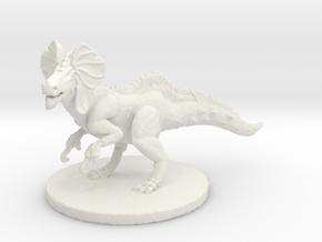 Great Jaggi (large beast) in White Natural Versatile Plastic