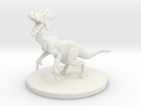 Jaggi (#2) (Medium Beast) in White Natural Versatile Plastic
