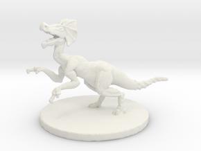 Jaggi (#4) Medium Beast in White Natural Versatile Plastic