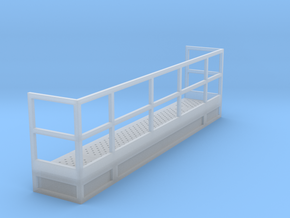 1/64 10' Tower flat access to stairs in Smooth Fine Detail Plastic