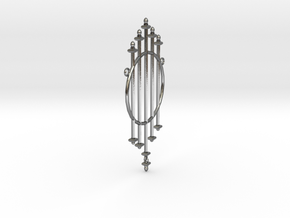 Iron wrought in Polished Silver (Interlocking Parts)