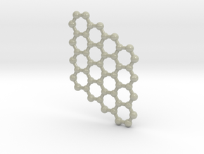 Graphene 4x4 (Large) in Glossy Full Color Sandstone