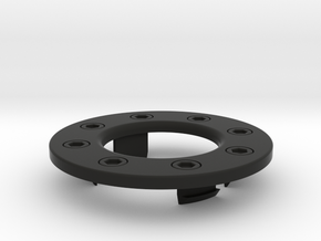 Lancia Delta Evo I Fuel ring in Black Natural Versatile Plastic