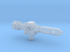 Outback's Gun, 5mm in Smooth Fine Detail Plastic