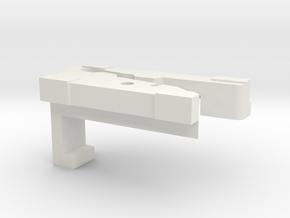 Lancia Delta sunroof schiebedach KW 2030-431 L in White Natural Versatile Plastic