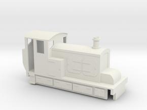 009 Hudswell Clarke diesel tram in White Strong & Flexible