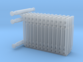 N Scale Membrane Water Filter Unit in Smooth Fine Detail Plastic