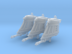 Alt. Cruiser Prows (Torpedoes) in Smooth Fine Detail Plastic