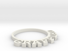 D&D Condition Ring, Grappled in White Natural Versatile Plastic