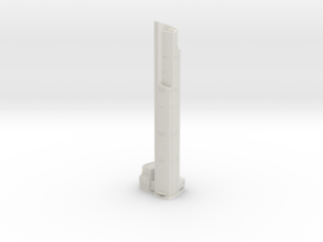 CTF Finance Centre (1:1800) in White Natural Versatile Plastic