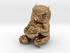 Owlbear Cub in Polished Brass: 15mm