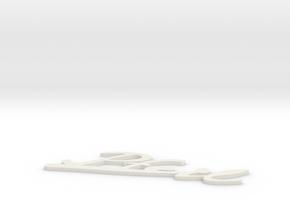 Pfeil in White Natural Versatile Plastic