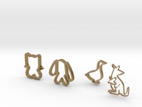 little friends in Polished Gold Steel
