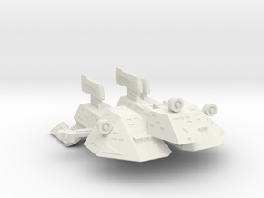 3125 Scale Kzinti Tri-Maran SRZ in White Natural Versatile Plastic