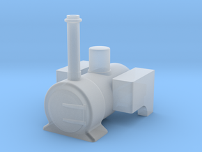 009 'Tiny Trains' Well tank type 2 in Smooth Fine Detail Plastic