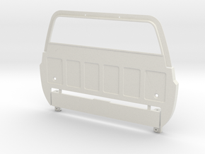 RC4WD Blazer Cab Back + Interior Adapter  in White Natural Versatile Plastic