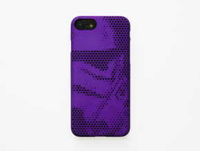 iPhone 7 & 8 Case_Stormtrooper in Purple Processed Versatile Plastic