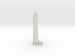 Central Plaza (1:2000) in White Natural Versatile Plastic