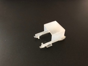 SNCF DU65 TU9A Adaptor Chassis  in Smoothest Fine Detail Plastic