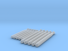 Torpedoes in Smooth Fine Detail Plastic