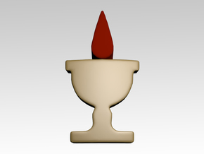 Blood Chalice Shoulder Icons x50 in Smooth Fine Detail Plastic