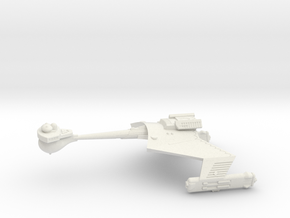 3125 Scale Romulan KRC Command Cruiser WEM in White Natural Versatile Plastic