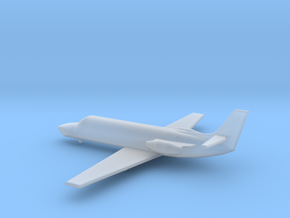 1/285 Scale Cessna 550 Citation Jet in Smooth Fine Detail Plastic