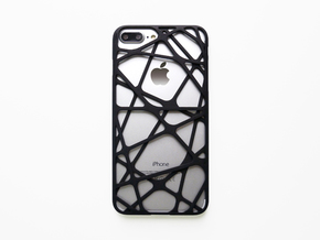 iPhone 7 Plus Case_Cross in Black Natural Versatile Plastic