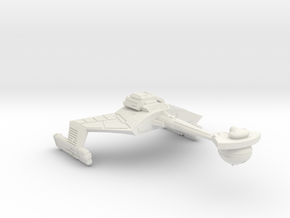 3788 Scale Klingon D7VK Refitted Strike Carrier WE in White Natural Versatile Plastic