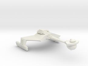 3788 Scale Klingon D7VB Strike Carrier WEM in White Natural Versatile Plastic