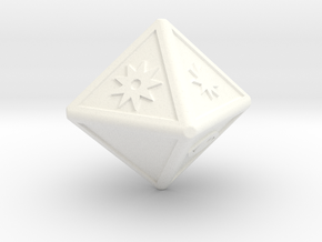 x-wing attack dice in White Processed Versatile Plastic