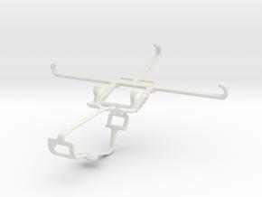 Controller mount for Xbox One & Nokia 7 plus in White Natural Versatile Plastic