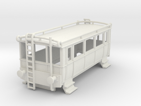 o-76-wcpr-drewry-small-railcar-1 in White Natural Versatile Plastic