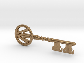 Ready Player One - Copper Key in Natural Brass