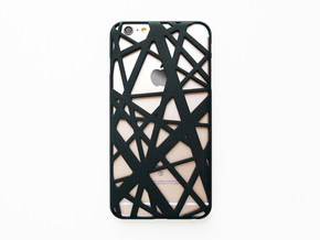 iPhone 6 plus / 6S plus Case_Intersection in Black Natural Versatile Plastic