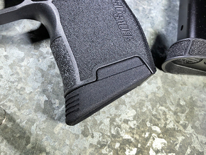 SIG P365 - Medium Extended Base Pad in Black Natural Versatile Plastic