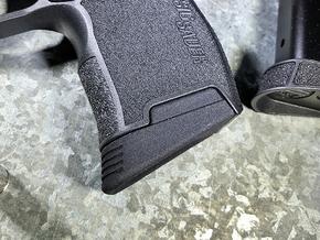 SIG P365 - Medium Extended Base Pad in Black Premium Versatile Plastic
