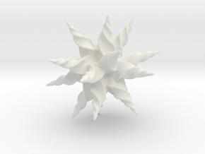Spark Of Energy in White Natural Versatile Plastic