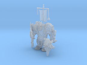 Crunk the Battle Orc in Smooth Fine Detail Plastic