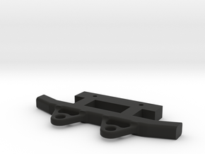 MST CFX / CMX REAR BUMPER in Black Natural Versatile Plastic
