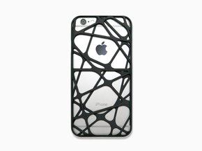 iPhone 6 / 6S Case_Cross in Black Natural Versatile Plastic