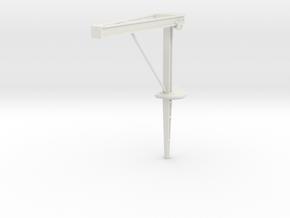 1/48 Fletcher Torpedo Crane in White Natural Versatile Plastic