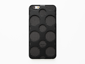 iPhone 6 plus / 6S plus Case_Dots in Black Natural Versatile Plastic