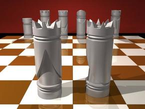 CHESS ITEM RAINHA / QUEEN in White Strong & Flexible