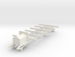o-43-wolseley-siddeley-railcar-chassis in White Natural Versatile Plastic