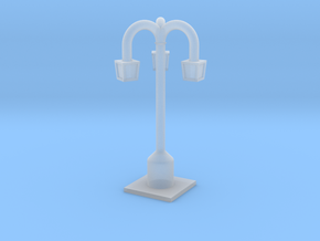 Lamp Posts in Smooth Fine Detail Plastic