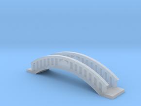 Micro Garden Bridge in Smooth Fine Detail Plastic