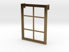 Window - Pendant in Polished Bronze