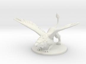 Griffon in White Natural Versatile Plastic