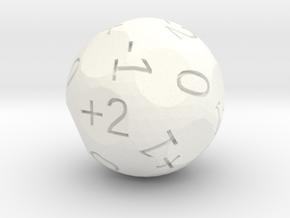 2dF in one (d18) in White Processed Versatile Plastic